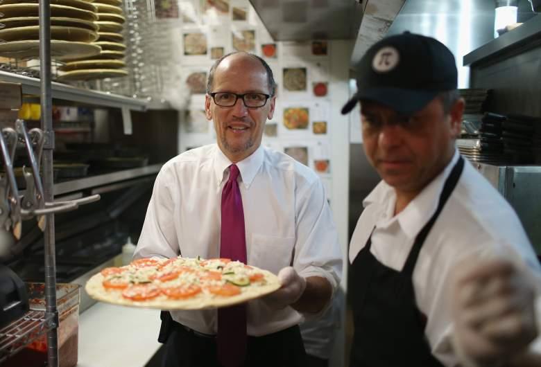 Tom Perez, minimum wage, Pi Pizzeria