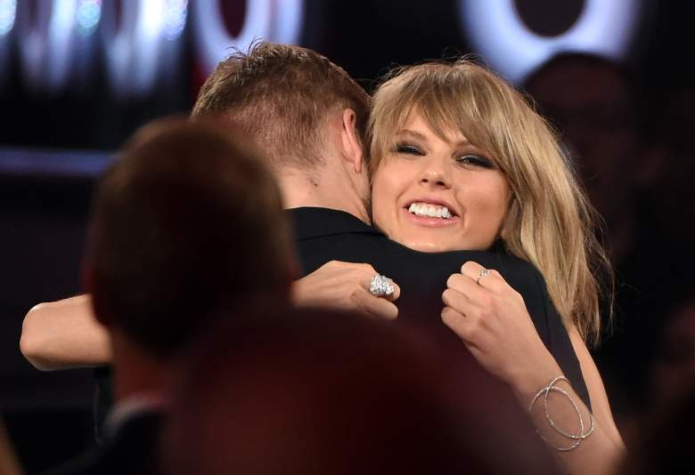 Taylor Swift and Calvin Harris, Billboard Music Awards, Taylor Swift smile