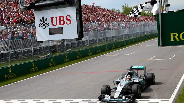 formula one f1 canadian grand prix gp 2016 date time tv channel field