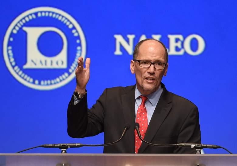 Tom Perez, US Labor Secretary