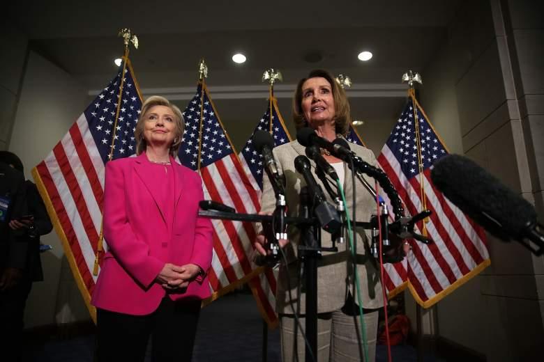 Hillary clinton and Nancy Pelosi, Nancy Pelosi endorses Hillary Clinton, Nancy Pelosi 2015