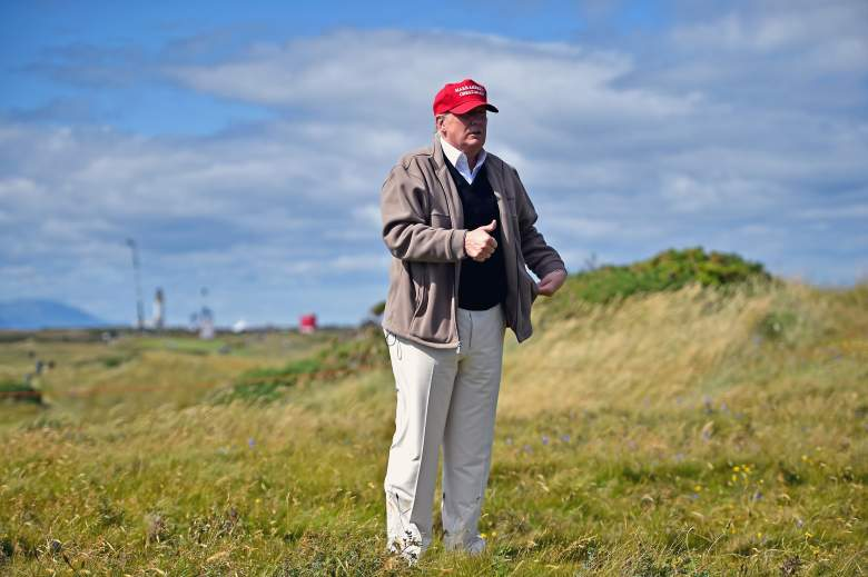 Donald Trump golf course, Donald Trump scotland, Donald Trump Turnberry