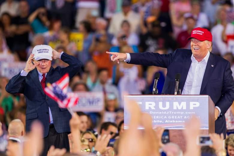 Jeff Sessions Donald Trump, Donald Trump Alabama rally, Donald Trump Jeff Sessions rally