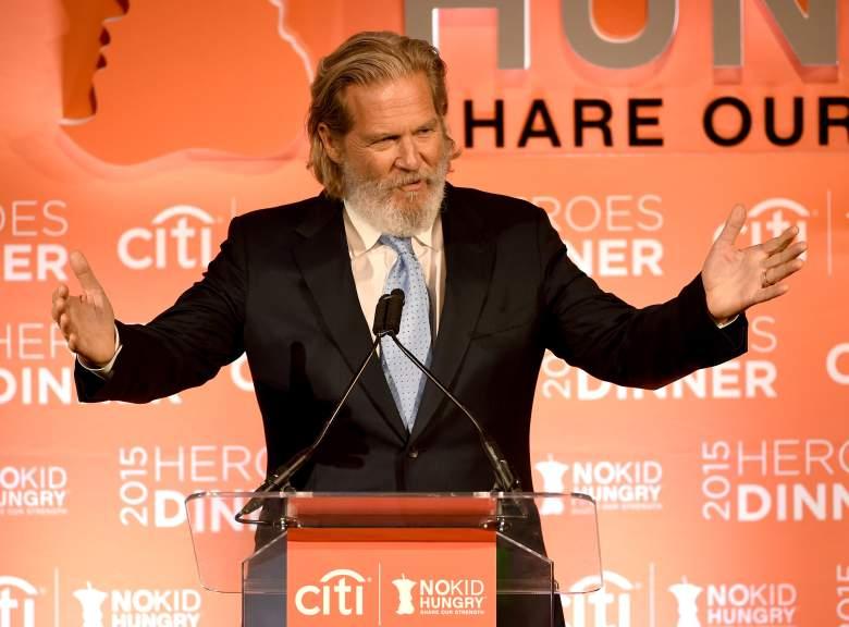 Jeff Bridges, Jeff Bridges beard, Jeff Bridges Oscars