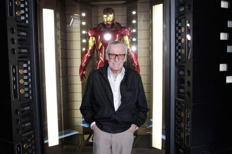 Stan Lee Iron Man, Stan Lee, Iron Man suit