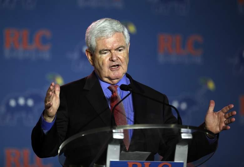 Newt Gingrich, Newt Gingrich Republican, Newt Gingrich talking