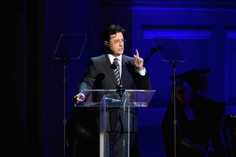 Stephen Colbert, World AIDS Day, Stephen Colbert speech