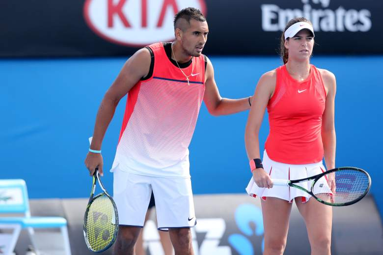Ajla Tomljanovic, Nick Kyrgios, Australian Open