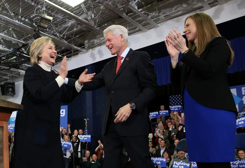 Chelsea Clinton pregnant, Bill Clinton family, New Hampshire primary