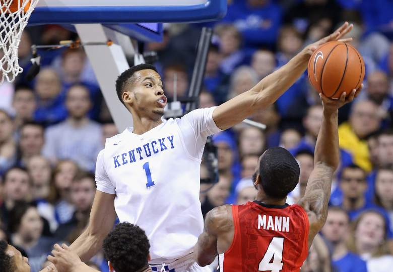 Labissiere was a major recruit for Kentucky, even by UK's lofty standards for recruiting. (Getty)