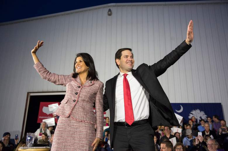 Nikki Haley Marco Rubio, Nikki Haley endorsement, Nikki Halley Marco Rubio endorsement