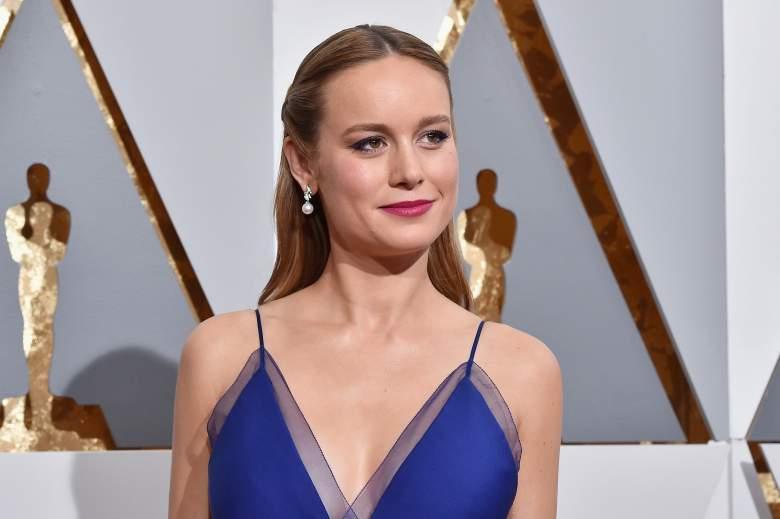 Brie Larson Oscars, Brie Larson red carpet, Brie Larson Blue dress