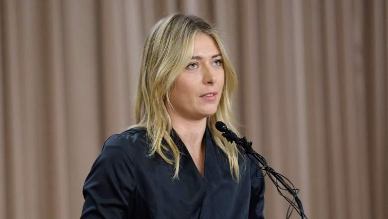 is maria sharapova retiring retired tennis two year ban doping