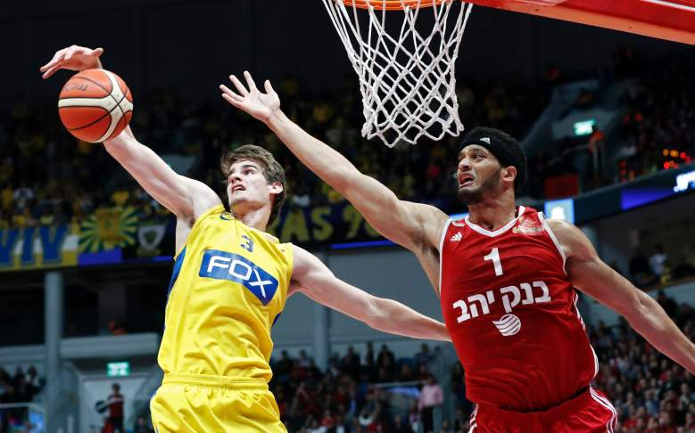 NBA scouts hope Bender's height and wingspan will bring him similar success in the NBA as it did in the European leagues. (Getty)