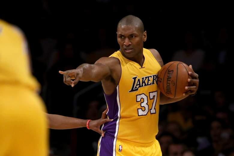 Metta World Peace Los Angeles Lakers