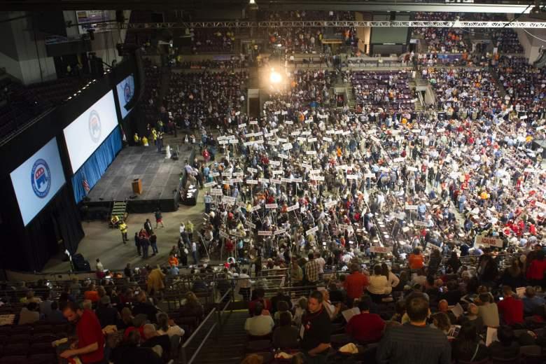 Ted Cruz supporters, Republican Convention, Republican convention Colorado