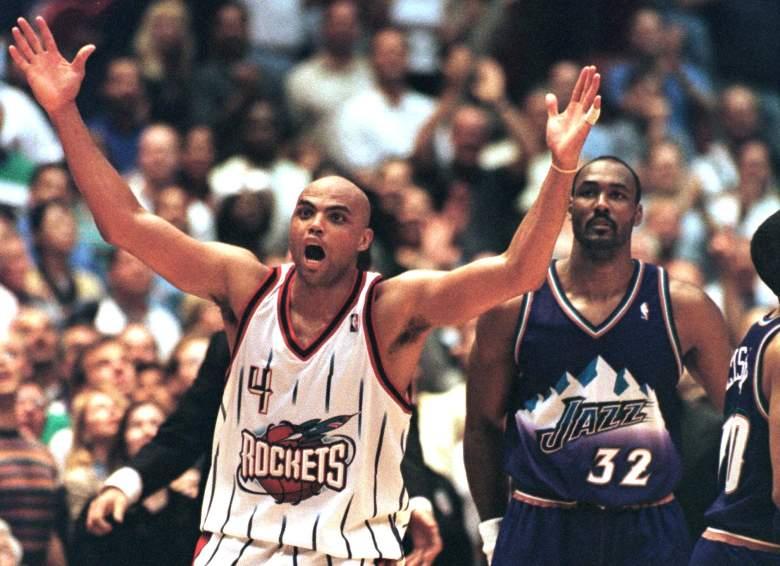 Charles Barkley and Karl Malone, Charles Barkley Rockets, Charles Barkley NBA