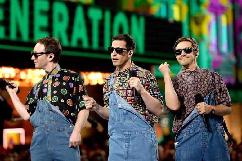Andy Samberg Lonely Island, The Lonely Island performances, Andy Samberg MTV Movie Awards