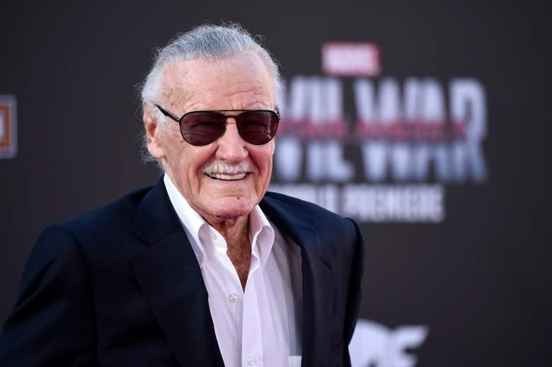 Stan Lee Marvel, Stan Lee Captain America, Stan Lee 2016