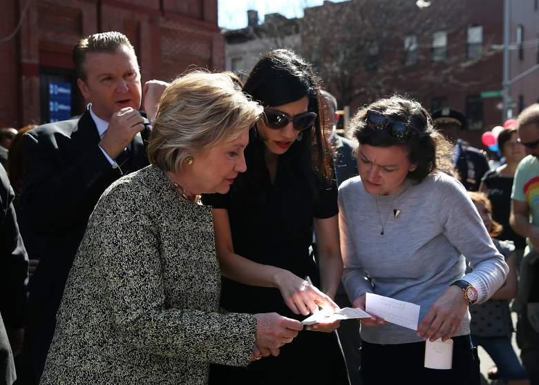 Huma Abedin, Hillary Clinton