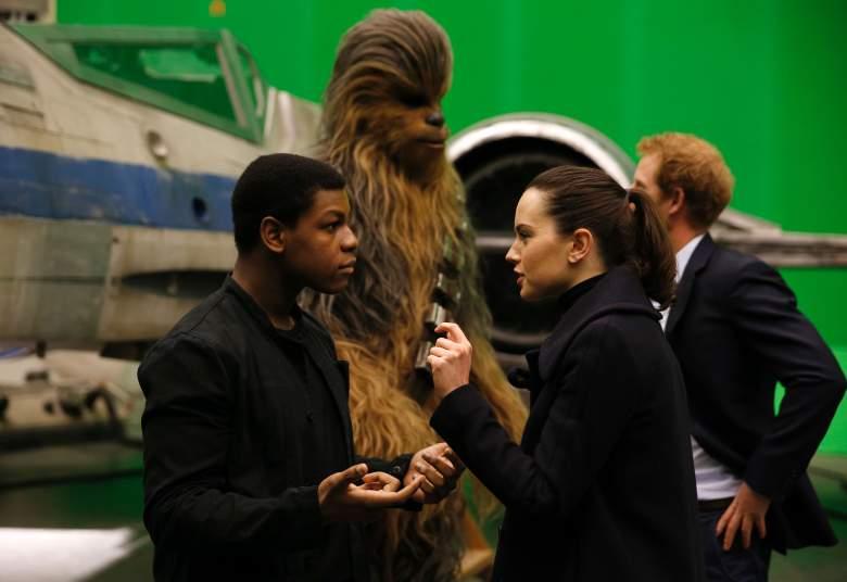 John Boyega and Daisy Ridley, Star Wars cast, Star Wars Prince Harry