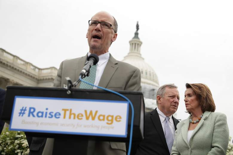 Tom Perez, minimum wage