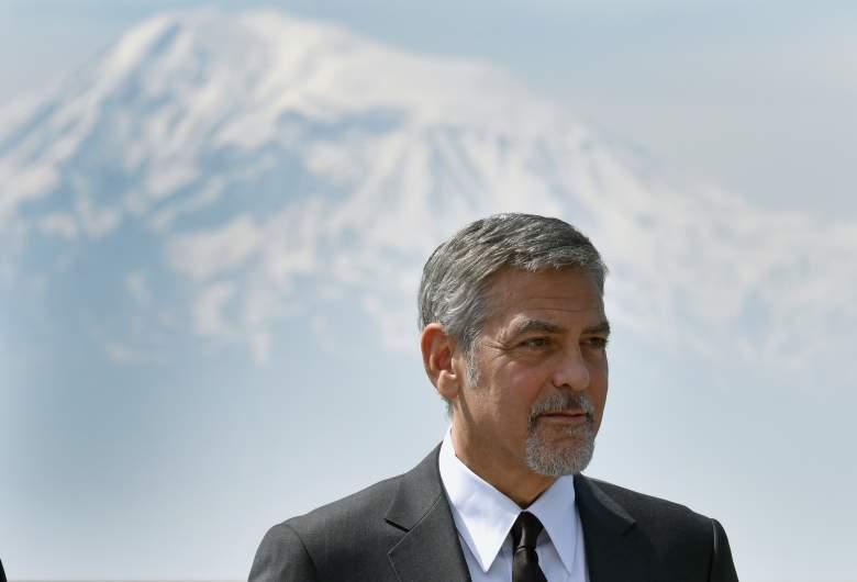 George Clooney, Armenian Genocide, Armenia, George Clooney beard, George Clooney 2016