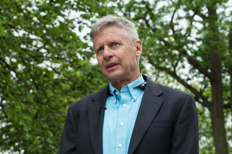 Gary Johnson will be on a town hall televised nationally by CNN tonight.