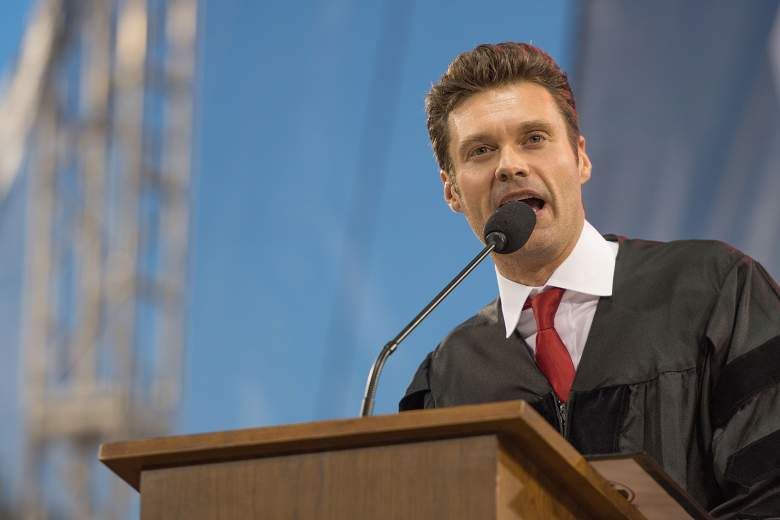 University of Georgia commencement speaker, Ryan Seacrest, Ryan Seacrest Georgia