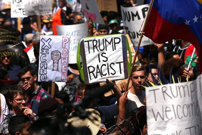 Donald Trump protests, Donald Trump protesters, Donald Trump san diego