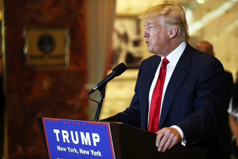 Donald Trump press conference, Donald Trump Trump Tower, Donald Trump new york speech
