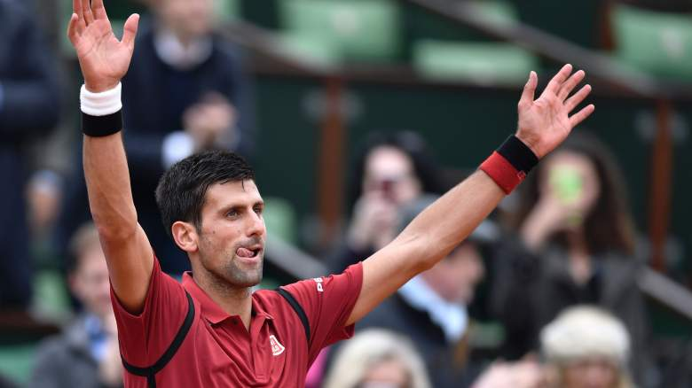 french open schedule, french open tv coverage, french open schedule of play, french open thursday schedule, french open thursday match times, novak djokovic match time, serena williams match time