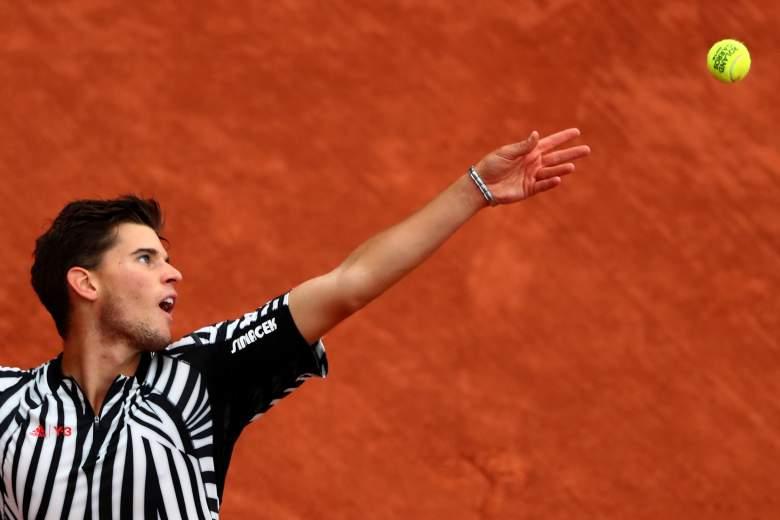 David Thiem, David Goffin, French Open