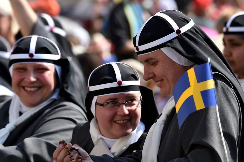 Sweden, nuns, Vatican City