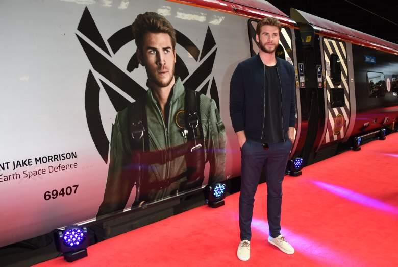 BEAM Virgin Trains, Liam Hemsworth, Liam Hemsworth red carpet