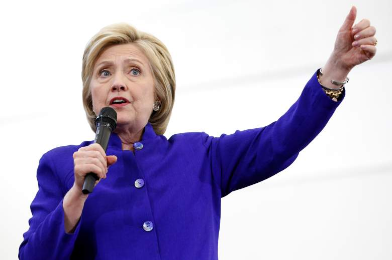 Hillary Clinton's average speaking fee has been reported at $225,000. (Getty)