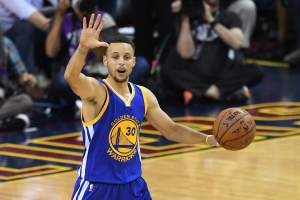 Steph Curry, Warriors vs. Cavs, point spread, total, over, under, vegas, favorite, nba finals, game 6