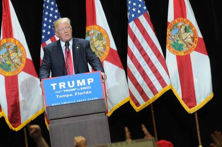 Donald Trump Florida rally, Donald Trump President, Donald Trump campaign