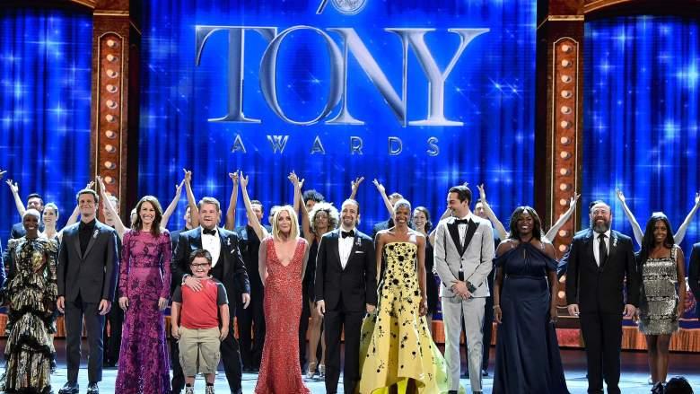tonys, tonys 2016, tony awards, tony awards 2016, tonys photos, tony awards photos, tony awards opening number, james corden, who hosted the tony awards?