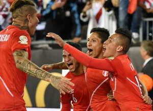 Peru, copa america 2016 centenario standings, group points