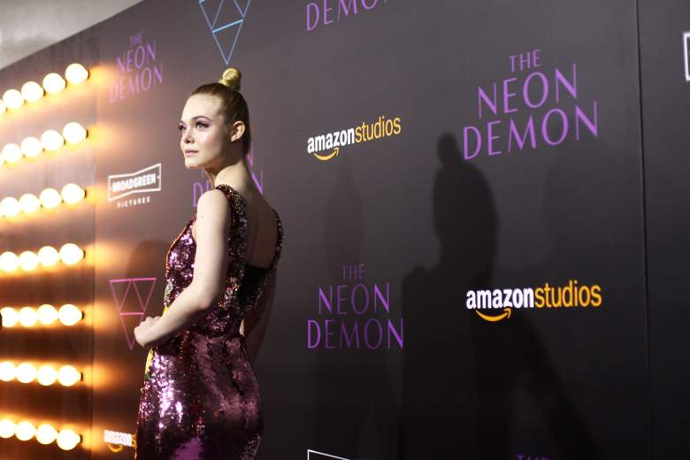 Elle Fanning, Elle Fanning red carpet, Elle Fanning The Neon Demon