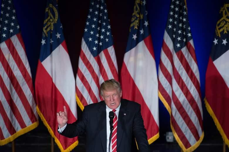 North Korea and Donald Trump, Donald Trump Atlanta, Donald Trump, Donald Trump angry