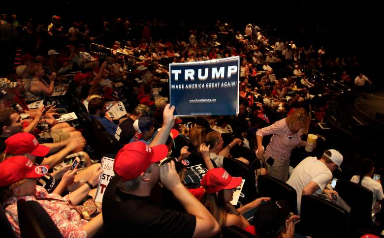 Michael Steven Sandford, Donald Trump, Donald Trump supporters