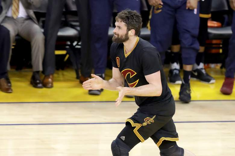 Kevin Love Cleveland Cavaliers, NBA Finals Game 7