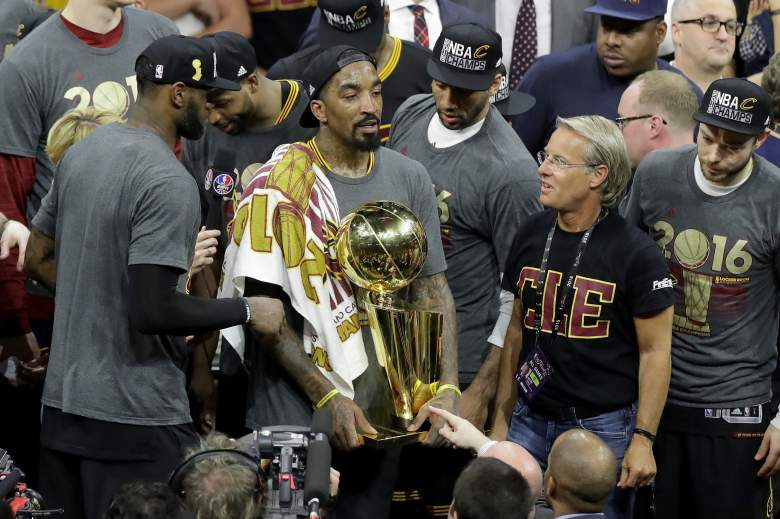 J.R. Smith Cleveland Cavaliers NBA Champions