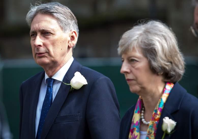 Jo Cox funeral, U.K. cabinet, Theresa May