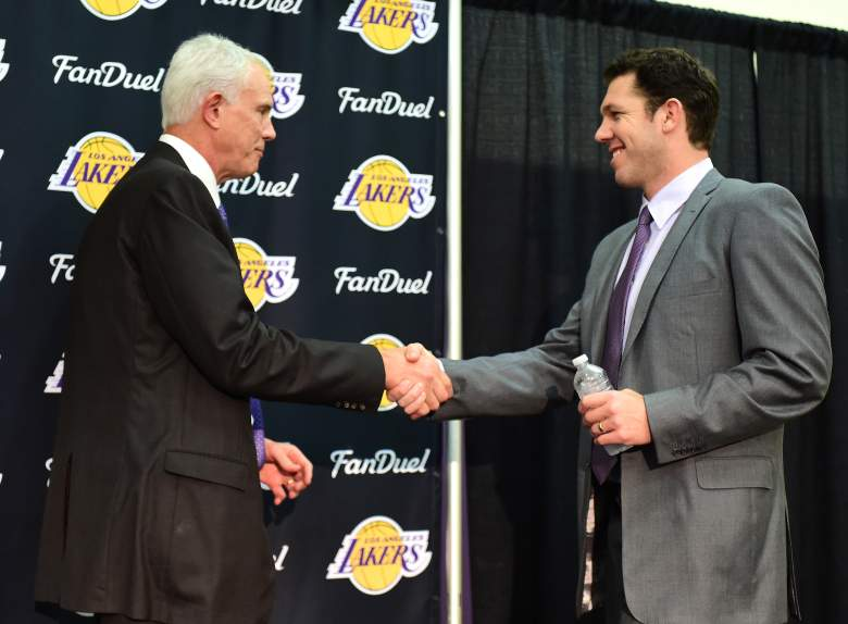 Los Angeles Lakers, Lakers GM Mitch Kupchak, Lakers new coach