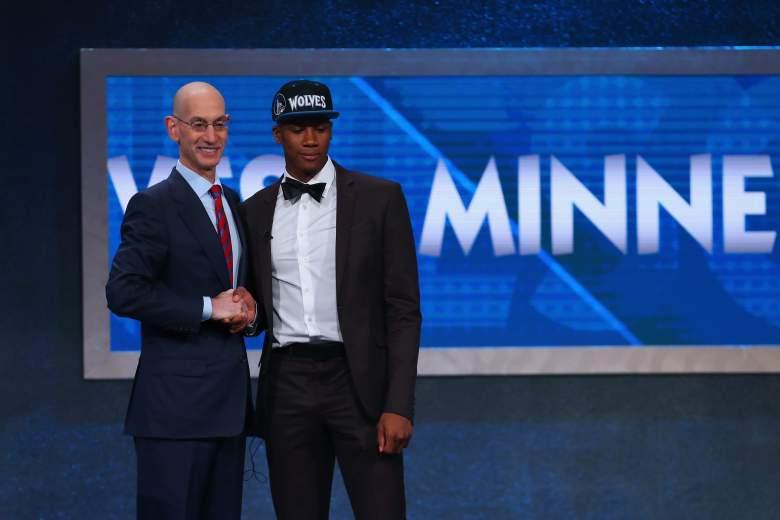 Kris Dunn Adam Silver 2016 NBA Draft, Minnesota Timberwolves
