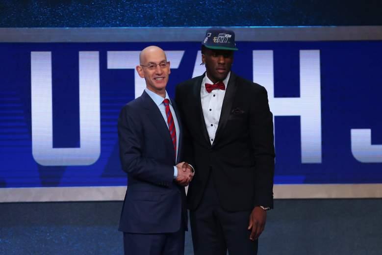 Adam Silver, Taurean Prince 2016 NBA Draft