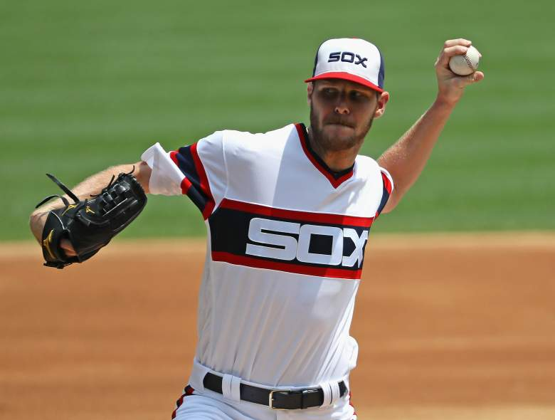 Chris Sale, MLB All-Star Game, Chicago White Sox pitcher